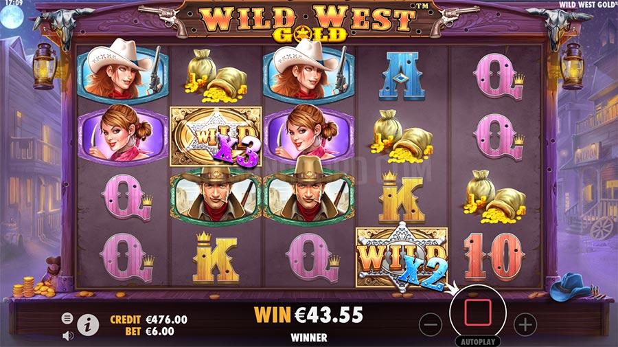 วิธีการเล่นเกมWild West Gold
